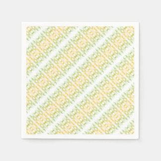 Modern Pattern Paper Napkins