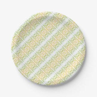 Modern Pattern Paper Plate