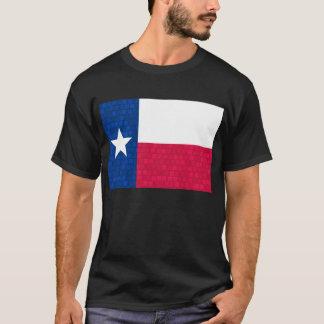 Modern Pattern Texan Flag T-Shirt