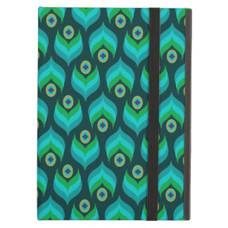 Modern Peacock Feather Pattern iPad Air Case