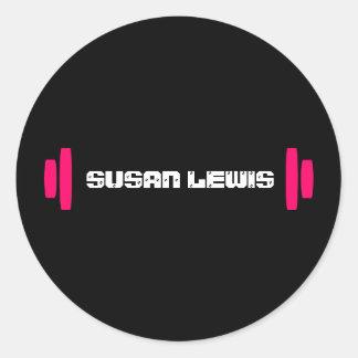 Modern Personal Trainer Sticker