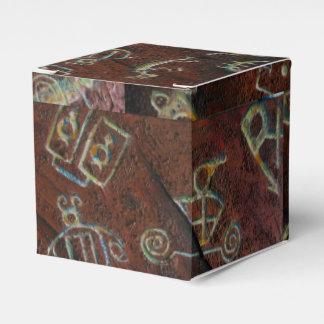 MODERN PETROGLYPHS by Slipperywindow Party Favour Box