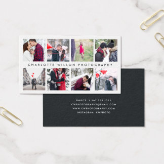 Modern Photo Collage | Photographer Business Card