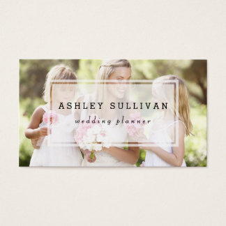 Modern Photo Overlay | Photography Business Card