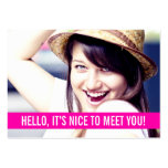 Modern Photo Personal Business Cards