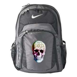 Modern Photo Skull Backpack