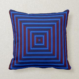Modern  Pillow-Home Decor -Cardinal Red/Blue Cushion