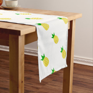 Modern pineapple design short table runner