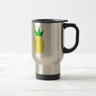 Modern pineapple design travel mug