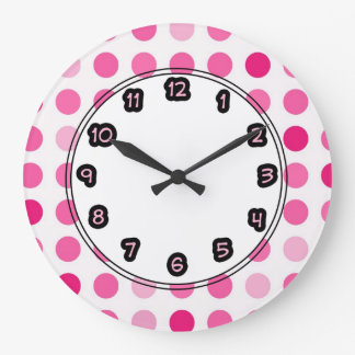 Modern Pink Wall Clocks