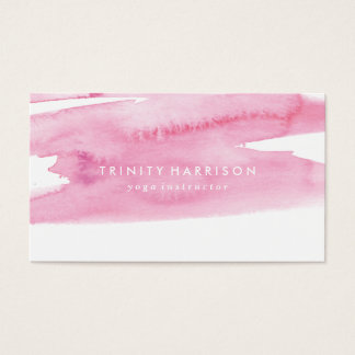 Modern Pink Watercolor Wash