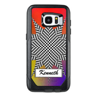 Modern Plasma by Kenneth Yoncich OtterBox Samsung Galaxy S7 Edge Case
