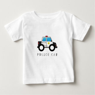 Modern Police Car Design Baby T-Shirt