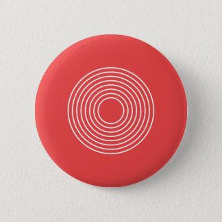 Modern polka dot pattern button