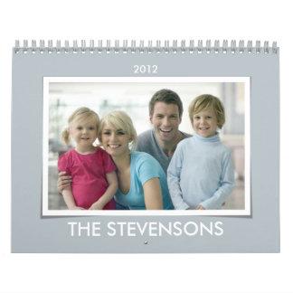 Modern Portfolio Photo 2012 Calendar