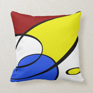 Modern Primary Colors Cushion
