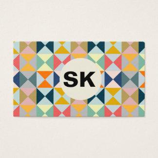 Modern Prismatic Colour | Businesscard Business Card