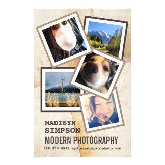 Modern Pro Photographer Advertisment 14 Cm X 21.5 Cm Flyer