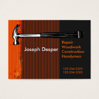 Modern Professional Construction Mr.Handyman Business Card