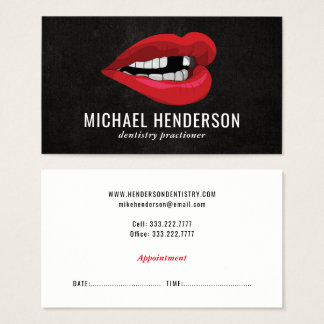 Modern Professional Cosmetic Dentistry Business Card