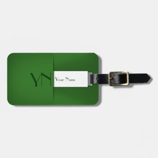 Modern Professional Green Case - Luggage Tag