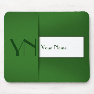 Modern Professional Green Case - Mousepad