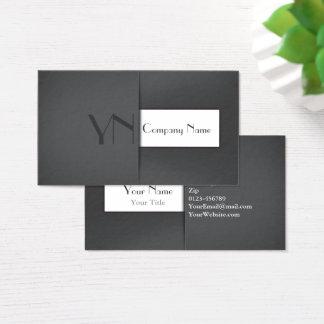 Modern Professional Grey Case - Business Card