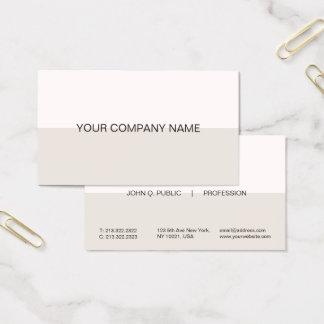 Modern Professional Harmonic Colors Combo Matte Business Card