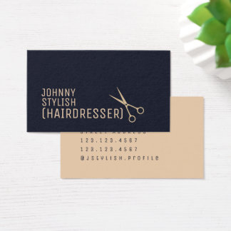 Modern professional style business card