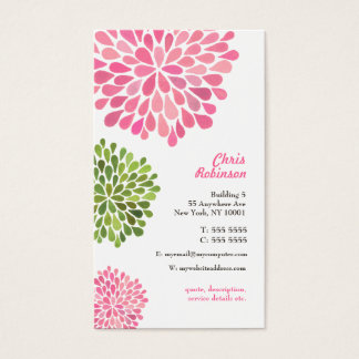 Modern Professional Womens WAHM Business Card