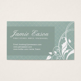 Modern Profile Card - Jamie Eason