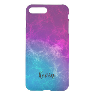 Modern Purple & Blue Polygonal Background iPhone 8 Plus/7 Plus Case