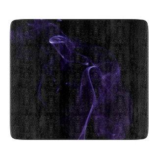 Modern Purple Smoke Cutting Board
