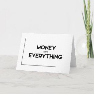 Money Is Not Everything Invitations Stationery Zazzle Au