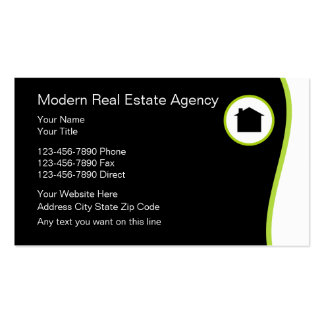 500 property management business cards and property for Modern real estate business cards