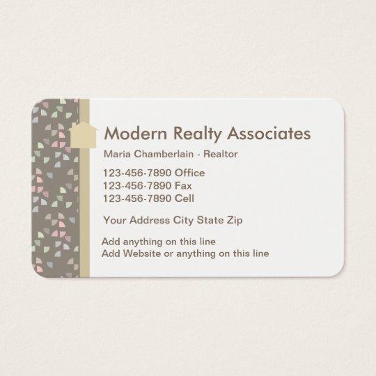Modern Realtor Theme Business Card