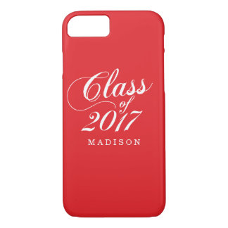Modern Red | Graduation iPhone 8/7 Case