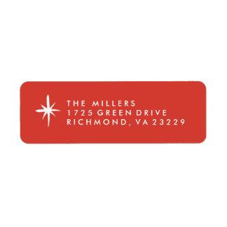 Modern Rejoice Address Label