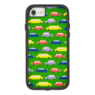 Modern Retro Cars Traffic Jam Cartoon Vibrant Cool Case-Mate Tough Extreme iPhone 8/7 Case