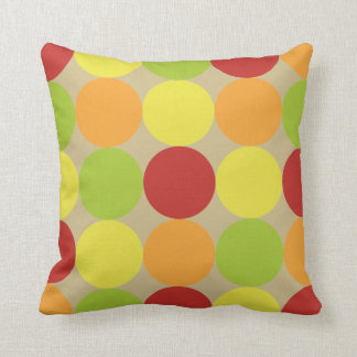 Modern Retro Circles Pattern Cushions