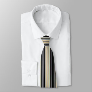 Modern Retro Color Blend Vertical Striped 001 Tie