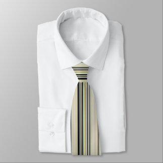 Modern Retro Color Blend Vertical Striped 002 Tie