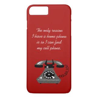 Modern Retro Funny Phone Vintage Stylish Cartoon iPhone 8 Plus/7 Plus Case