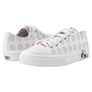 Modern Retro Simple Daisy Flower Printed Shoes