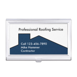 Modern Roofing Business Card Case