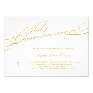 Browse the First Holy Communion Invitations Collection and personalise by colour, design, or style.