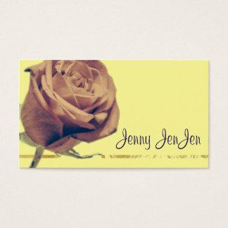 Modern Rose Business Cards