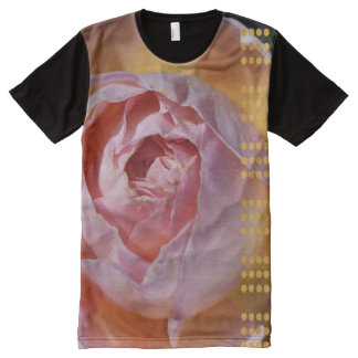 Modern Rose With Shapes Shirt