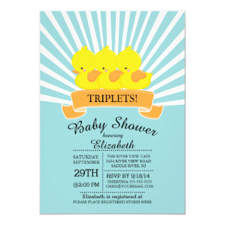 Browse Zazzle's Triplet Baby Shower Invitations Collection and personalise by colour, design, or style.