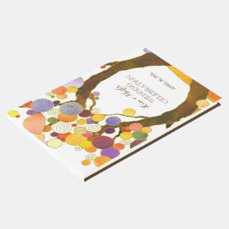 Modern Rustic Love Trees Wedding Guest Book